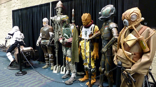 Bounty Hunter Mannequins | by sciencensorcery