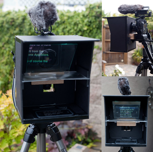 DIY iPhone Teleprompter | by the other Martin Taylor