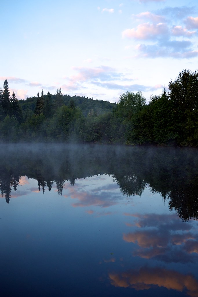 lac au petit matin soir e au coin du feu et nuit de campin flickr. Black Bedroom Furniture Sets. Home Design Ideas