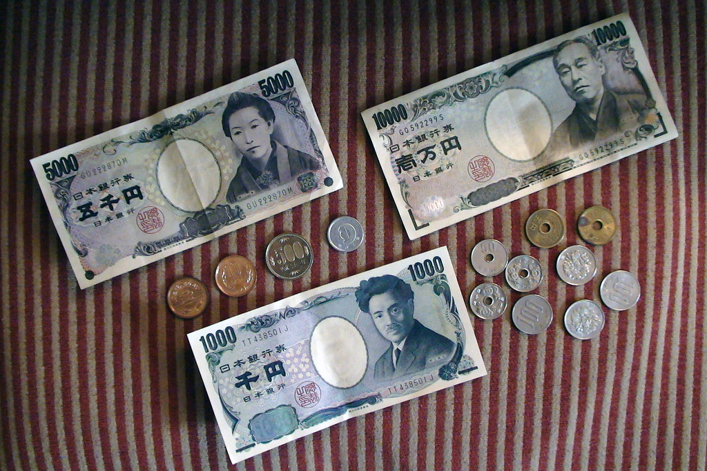 Japanese Yen | 円 (Han character) As of today 100 yen equals … | Flickr