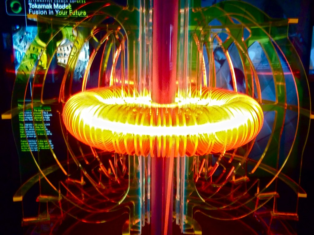 Nuclear Fusion Display At The Weiss Energy Hall