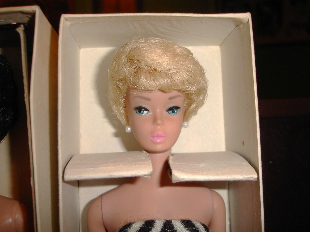 Nrfb Pristine 1961 Vintage Barbie White Ginger This White Flickr