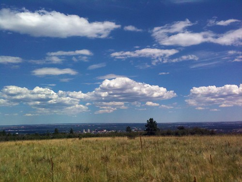 View of Colorado Springs from the trail | by kafski