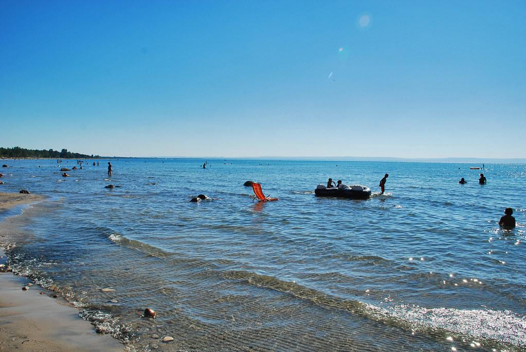 Tiny Beaches Woodland Beach Ontario Tiny Is A