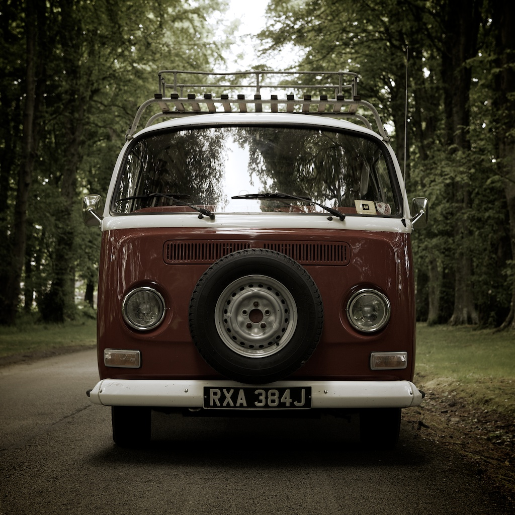 Vintage VW Camper IPad Wallpaper