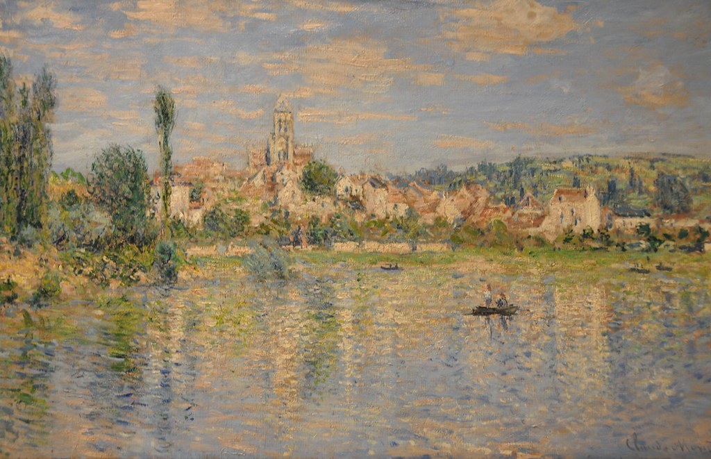 Claude Monet V 233 Theuil In Summer 1880 At New York Metrop
