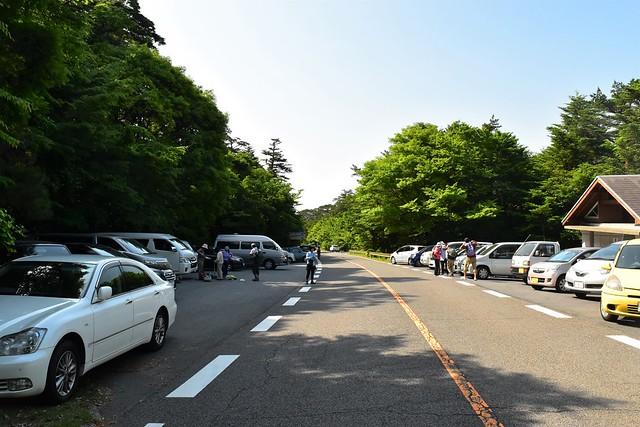 韓国岳・大浪池登山口駐車場