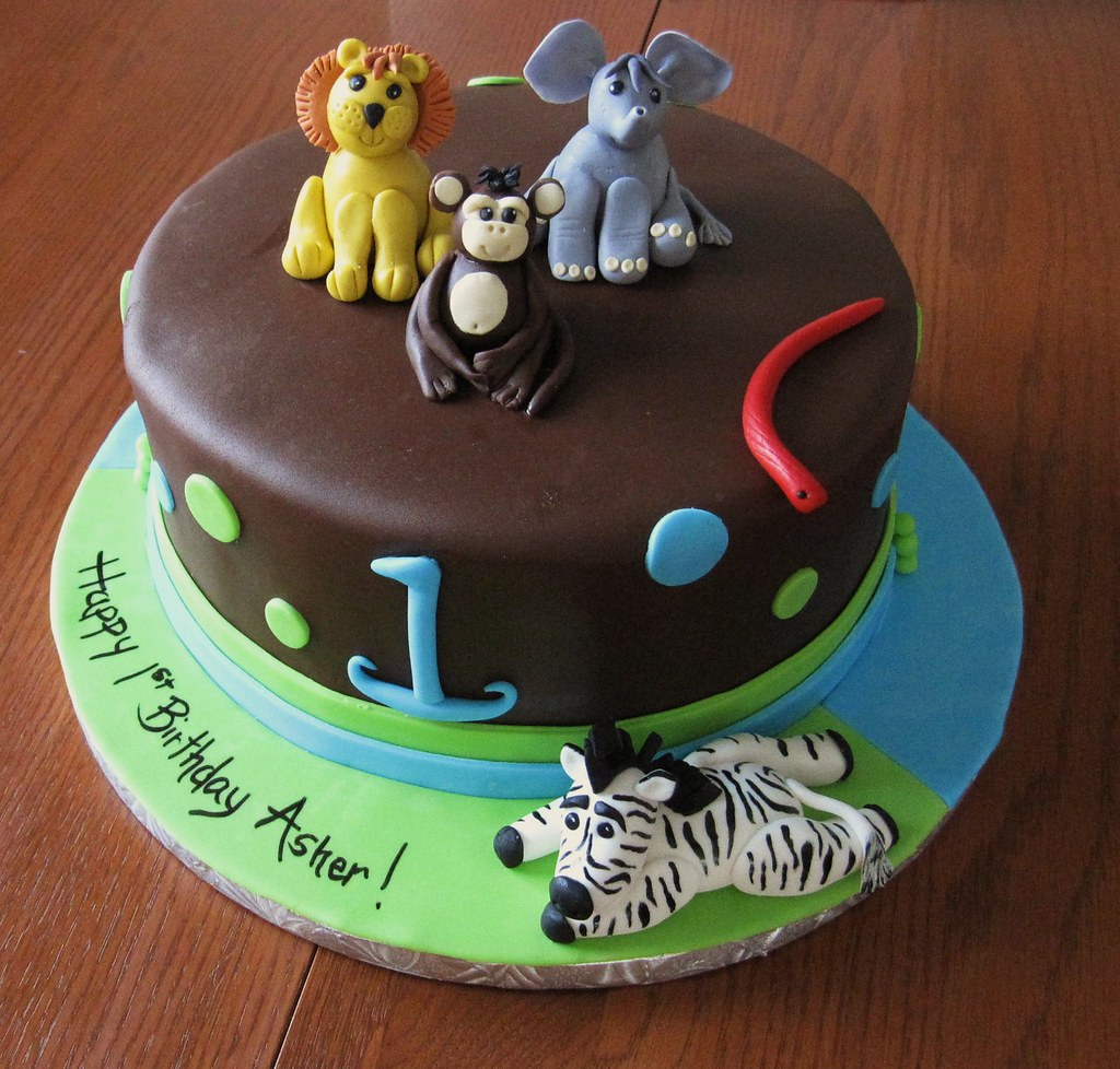 Jungle Animals 1st Birthday