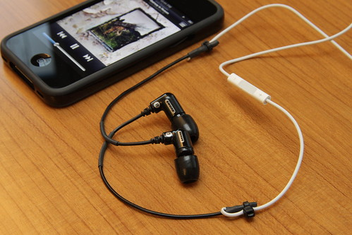 DIY: Shure Sound Isolating Earphone + iPhone 4 Earphone | by Yutaka Tsutano