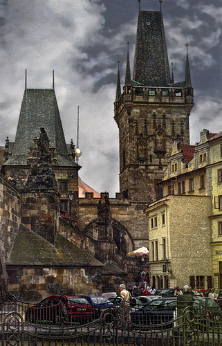 Under the Charles Bridge | by h_roach