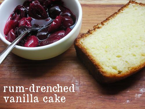 Vanilla Rum Cake Recipe From Scratch