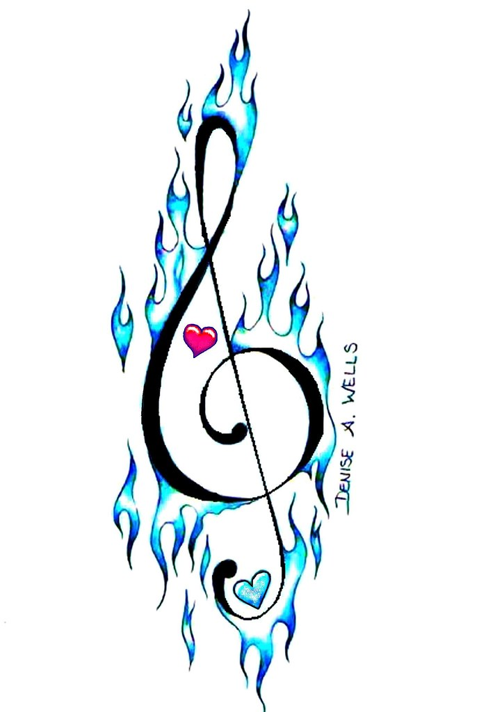 Musical Drawings Music Note Drawing