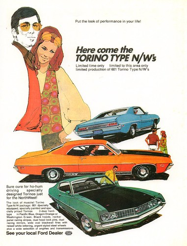 1970 Ford Torino Type N/W (USA)   The Type N/W was a regiona ...