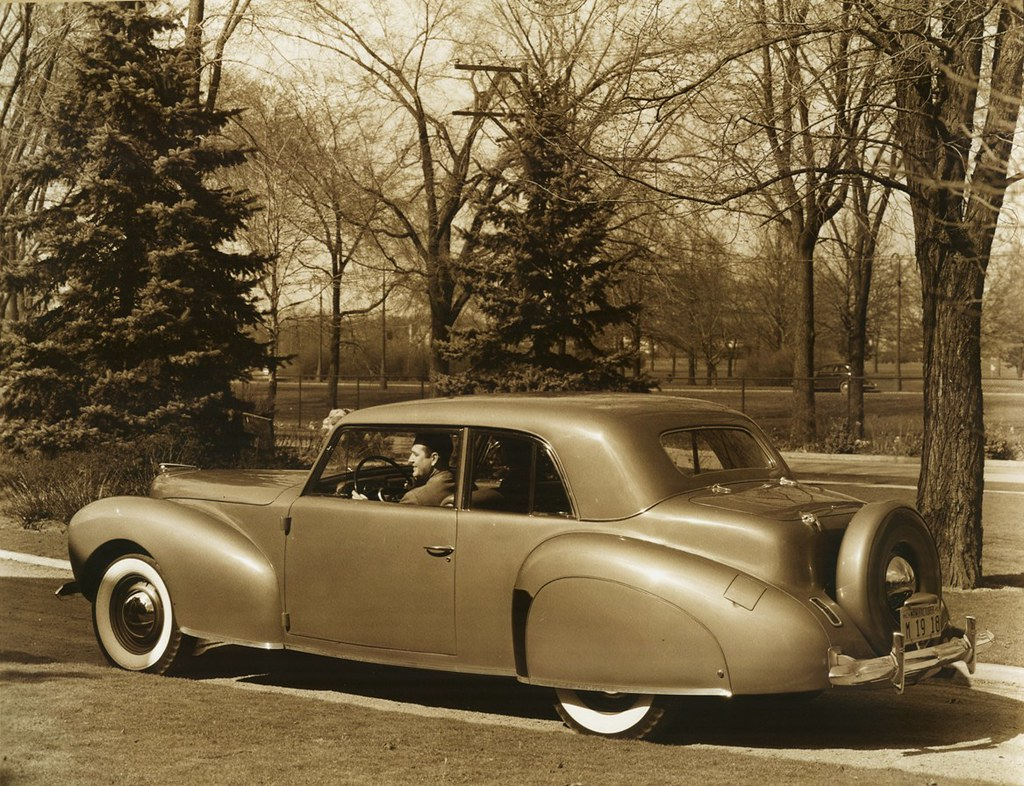 1940 Lincoln Zephyr Continental Club Coupe Alden Jewell Flickr