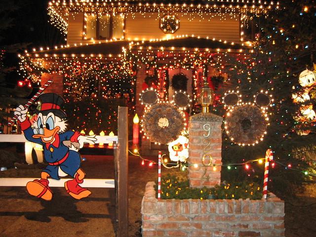 Christmas lights candy cane lane edmonton alberta canada flickr