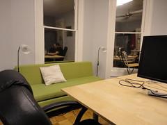 main coworking room