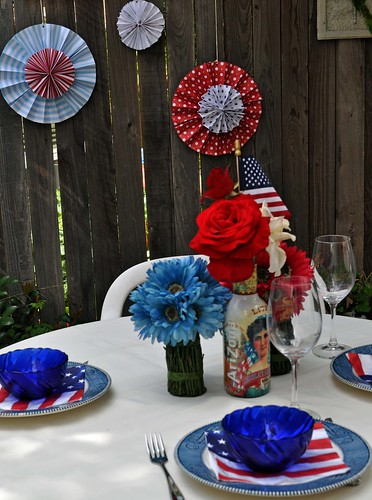 4th of July Table 2010 | by katydiddy