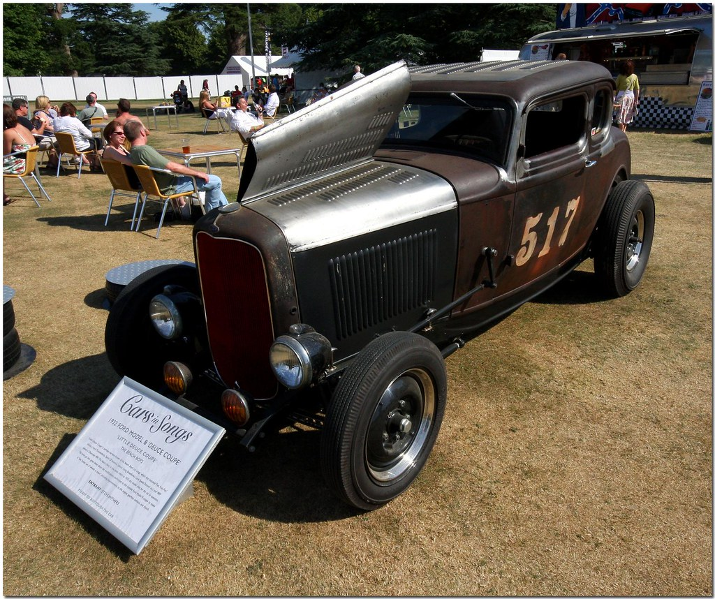 "1932 Ford Model B Deuce Coupe. ""Cars In Songs"" Goodwood Fe"