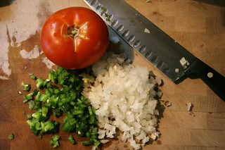 The makings of Salsa Fresca | by lesley zellers