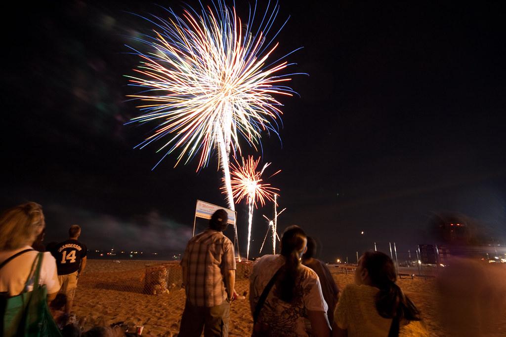 Coney Island Fireworks In Ohio