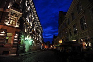 Tallinn by Night | by goingslowly