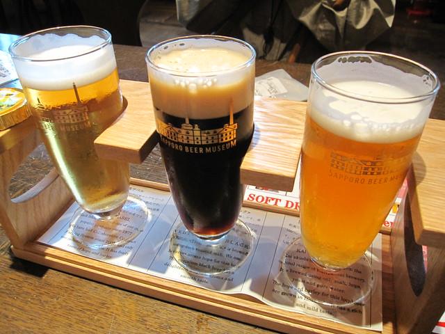 サッポロビール博物館飲み比べセット