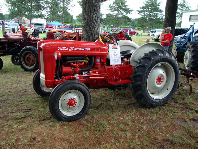 Ford 601 Workmaster Tractor : Flickr photo sharing