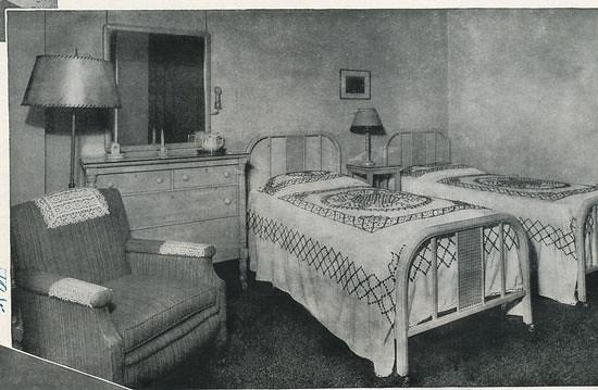 Clark Twin Bedroom Ca 1940 Dlz127 Flickr
