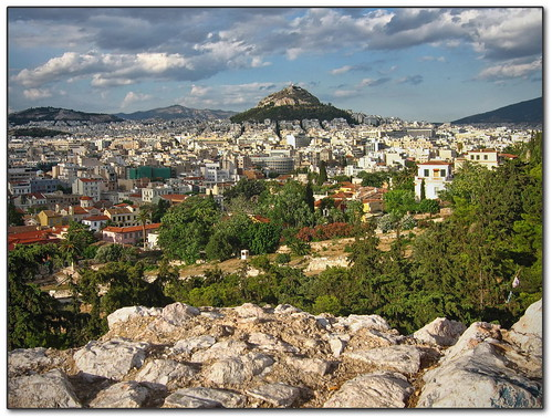 how to get from athens airport to acropolis