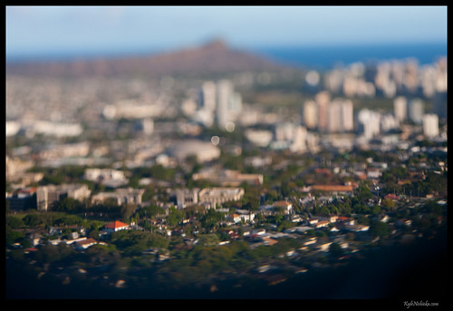 Tilt Shift Diamond Head | by madmarv00