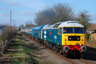 47580 and 45133 - Rash's Green, Dereham - 21st March 2010 | by Calum Hepplewhite