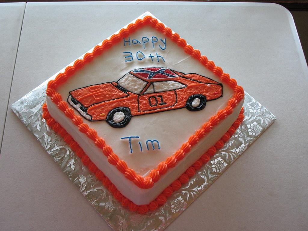 Dukes Of Hazzard Cake Tiffany M Flickr