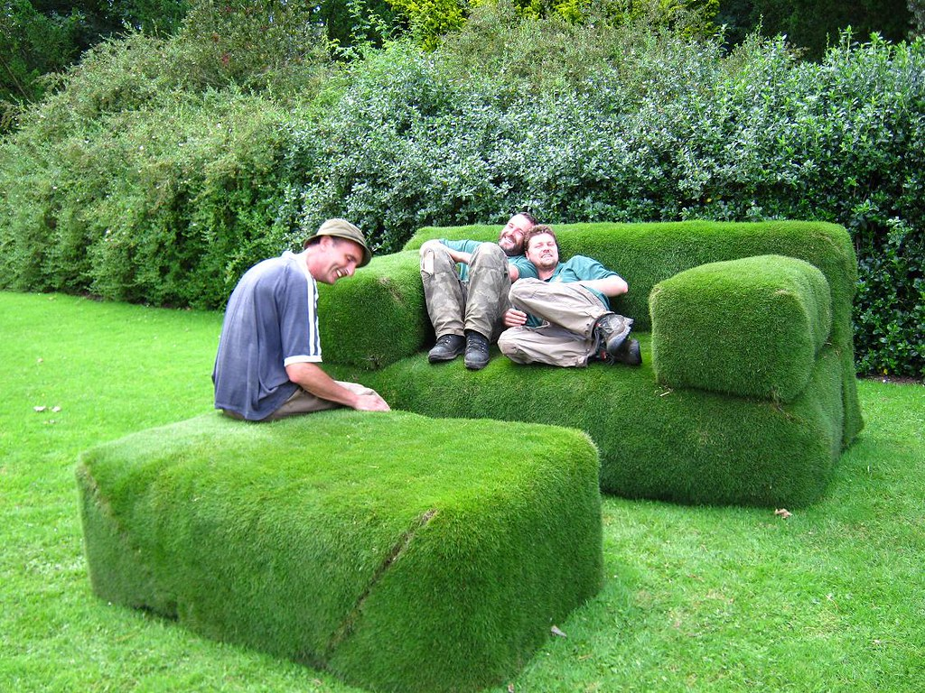Giant Grass Sofa The New Giant Grass Sofa Was