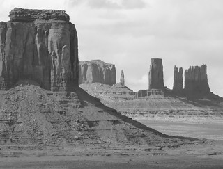 Scenes from the Old West - Monument Valley in Black & White | by Alaskan Dude