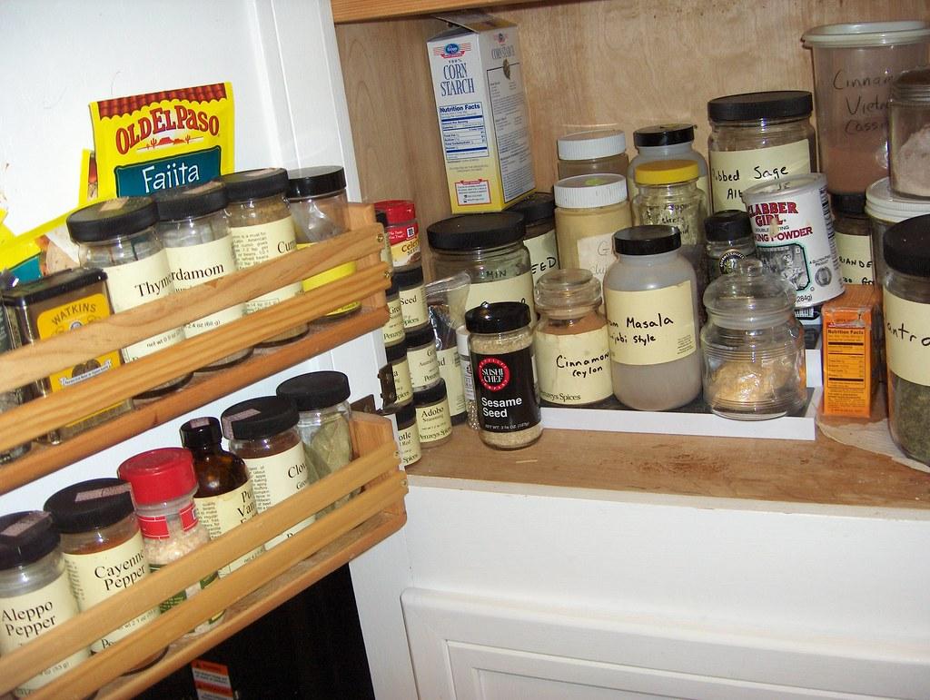 Spice Cabinet Kitchen