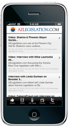 what is the new iphone azlegislation iphone app screenshots of the pre 8454