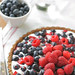Berry Tart with Mixed Nut Crust