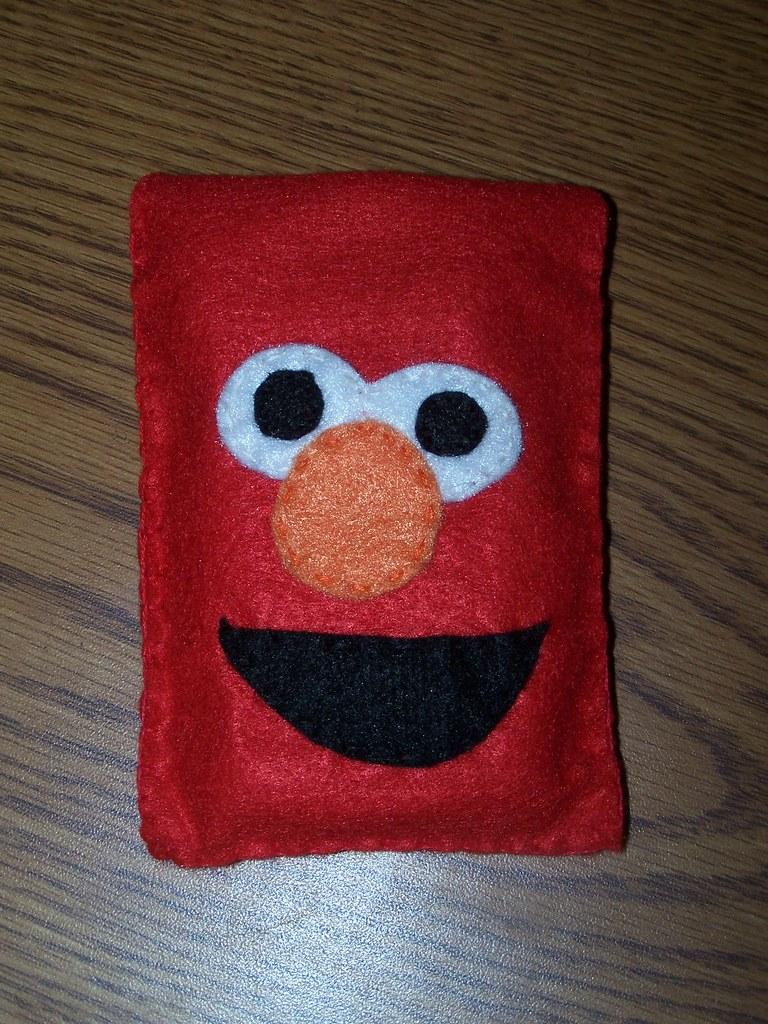 Case Design phone finder case Elmo phone case : A phone case I made from felt. : Catch_A_Falling ...