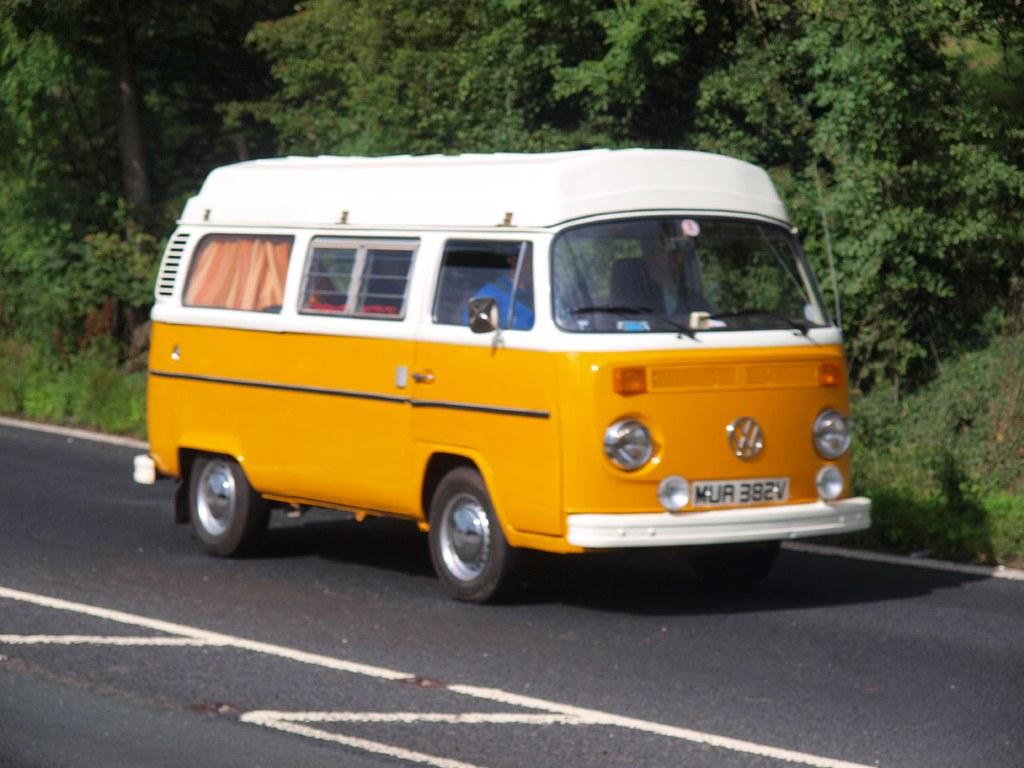 Volkswagen Campervan Buses 1980 Volkswagen Campervan