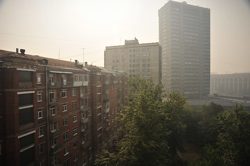 Smoggy Moscow | by goingslowly