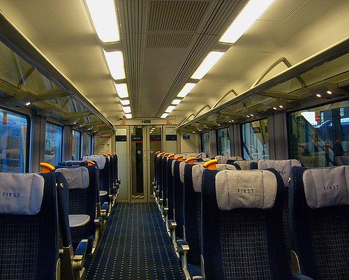 british charter train interior of a first 1st class ca flickr. Black Bedroom Furniture Sets. Home Design Ideas
