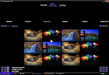 FREE Media Gallery - XML Template | full FREE XML website te… | Flickr