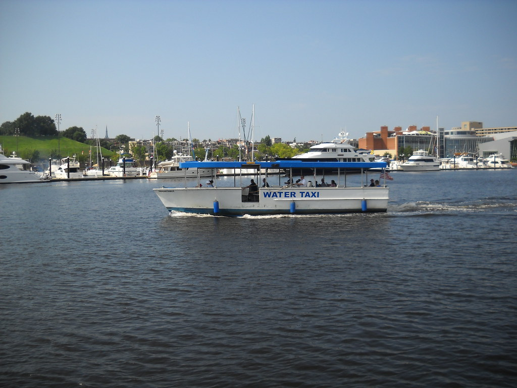 water taxi in baltimore harbor ride this around bill Flickr