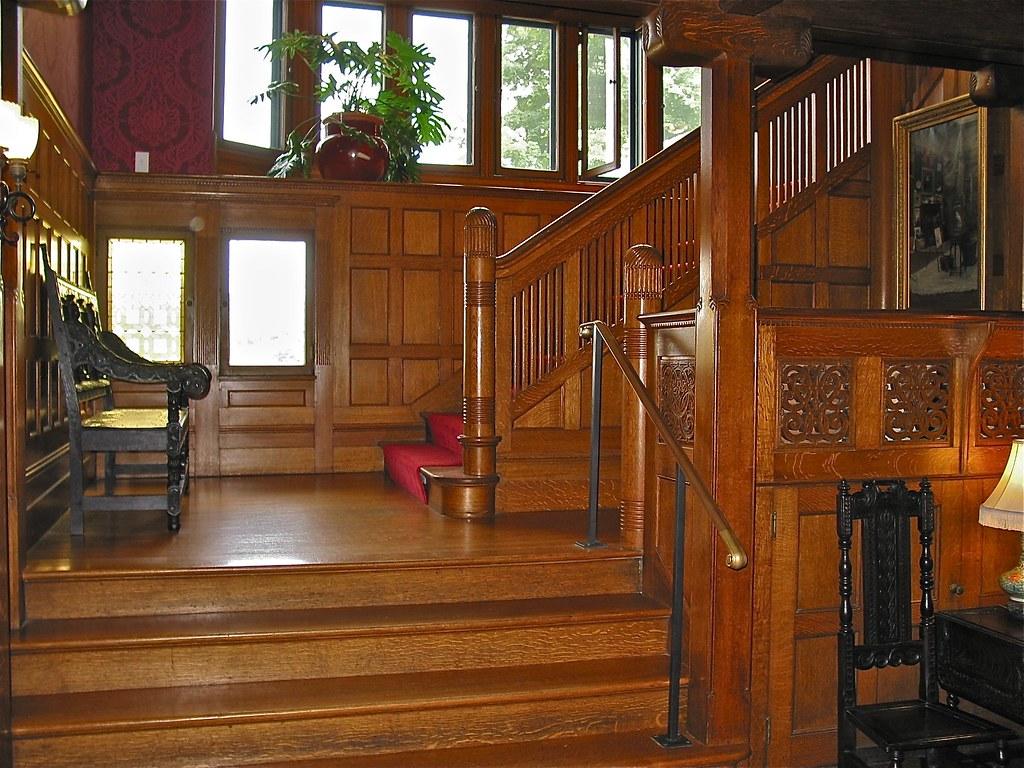 Wood Stair Case