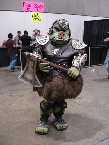 Star wars celebration iv gamorrean guard fan costume flickr - Star wars gamorrean guard ...