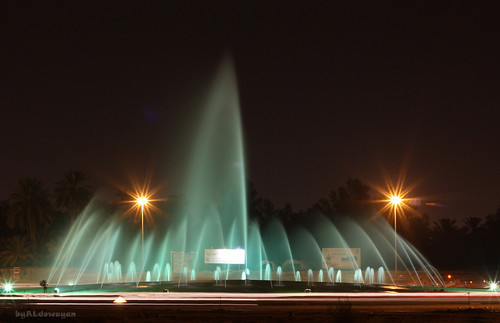 Fountain - Saudi Arabia Unayzah     ( In Explore ) | by ALdowayan