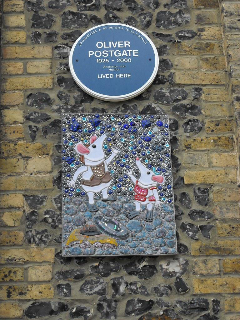 Postgate Plaque