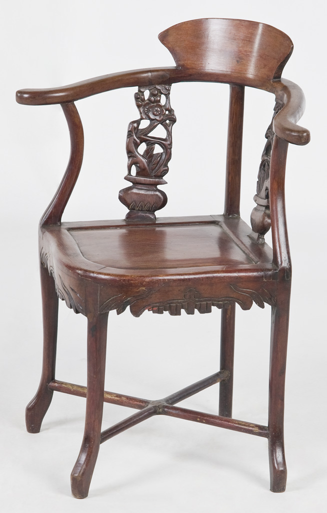 ... Xs1003y Chinese Antique Corner Chair | By Silk Road Collection