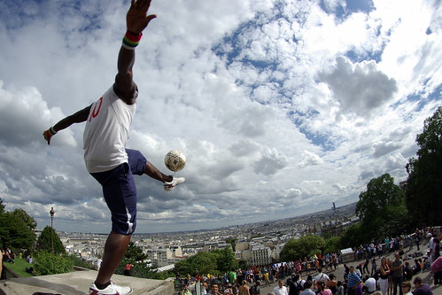 Iya Traore, soccer freestyler | by Dennis Koch