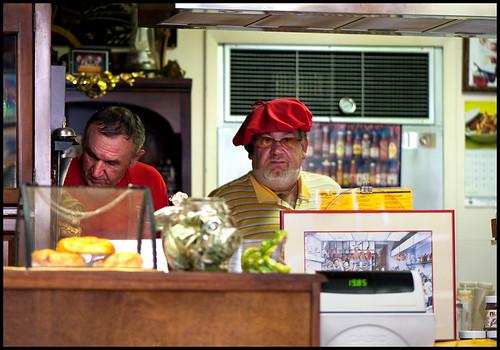 Cafe Chicago Van Buren